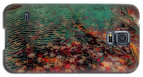 Galaxy S5 Case featuring the photograph Autumn Submerged by David Patterson