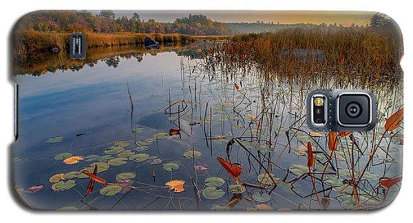 Autumn Sunrise At Compass Pond Galaxy S5 Case