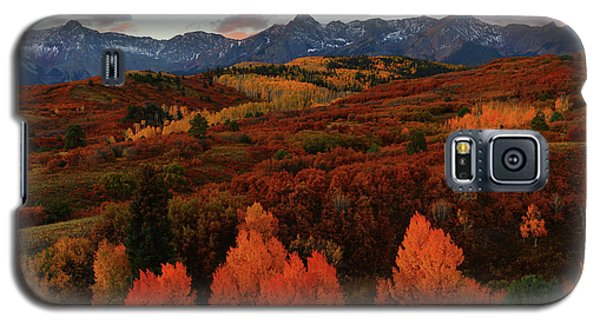 Autumn Sunrise At Dallas Divide In Colorado Galaxy S5 Case