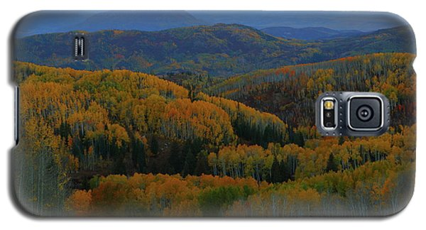 Autumn Sunrise At Rainbow Ridge Colorado Galaxy S5 Case