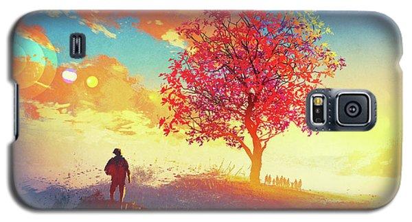Autumn Sunrise Galaxy S5 Case