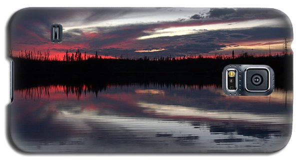 Autumn Sunset Galaxy S5 Case