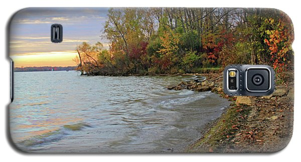 Autumn Sunset Galaxy S5 Case by Angela Murdock