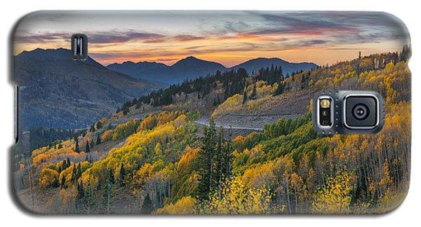 Autumn Sunset At Guardsman Pass, Utah Galaxy S5 Case