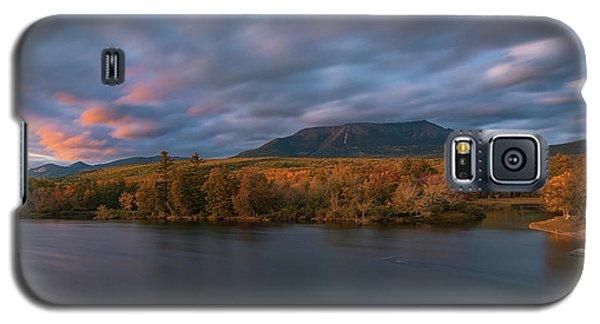 Autumn Sunset At Mount Katahdin Galaxy S5 Case
