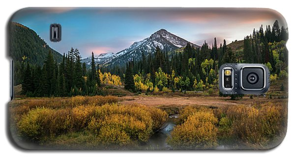 Autumn Sunset In Big Cottonwood Canyon Galaxy S5 Case