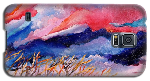 Autumn Sunset In The Sky Galaxy S5 Case