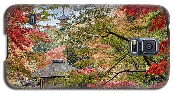 Galaxy S5 Case featuring the photograph Autumn  by Tad Kanazaki