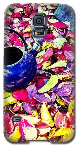 Autumn Tea Galaxy S5 Case