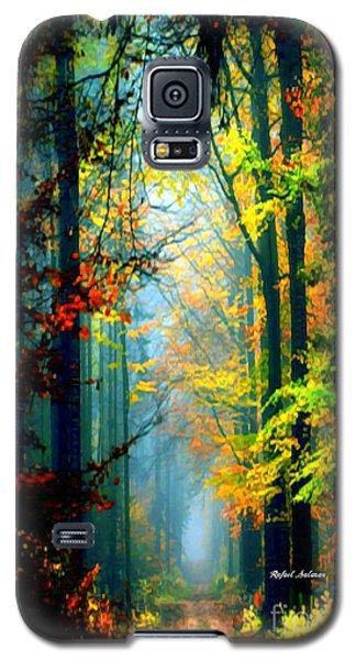 Autumn Trails In Georgia Galaxy S5 Case