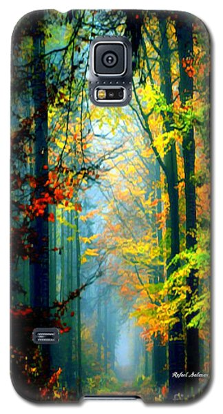 Autumn Trails In Georgia Galaxy S5 Case