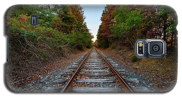 Autumn Train Galaxy S5 Case