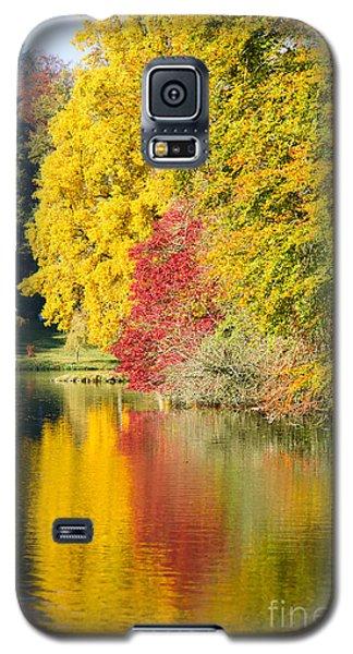 Autumn Trees Galaxy S5 Case