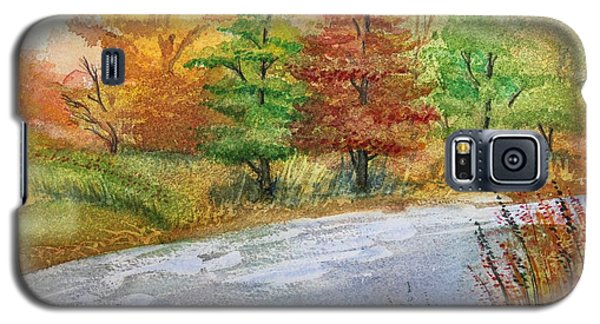 Autumn Trees Galaxy S5 Case