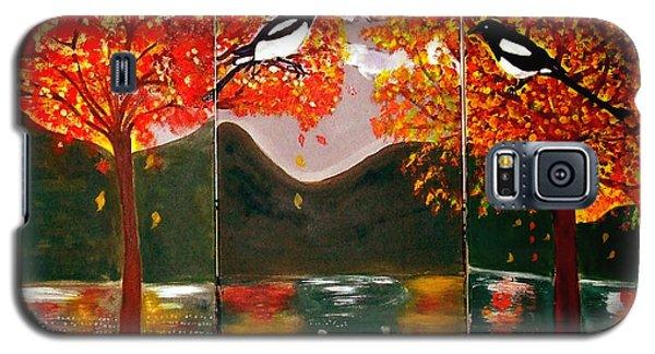 Autumn Trilogy Galaxy S5 Case