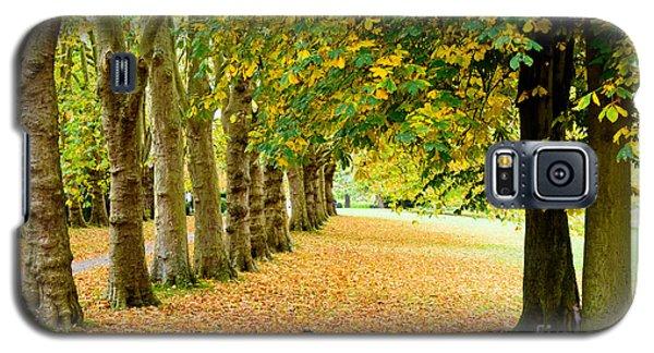 Autumn Walk Galaxy S5 Case