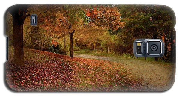 Galaxy S5 Case featuring the photograph Autumn Walk by Elaine Manley