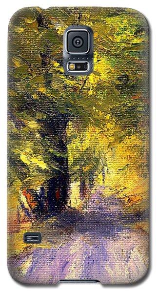 Autumn Walk Galaxy S5 Case by Gail Kirtz