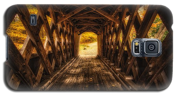Galaxy S5 Case featuring the photograph Autumn Walk by Robert Clifford