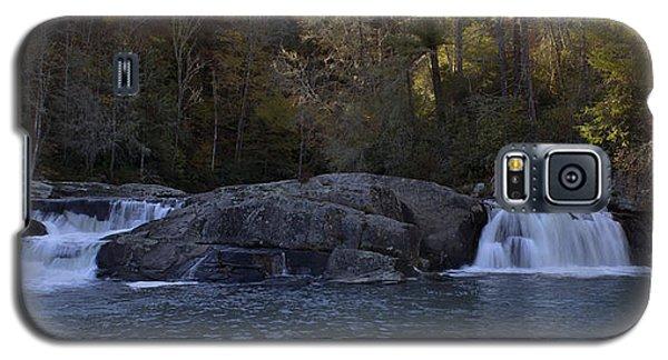 Galaxy S5 Case featuring the photograph Autumn Waterfall  by Ellen Heaverlo