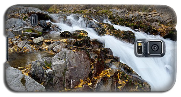 Autumn Waterfall Galaxy S5 Case