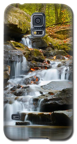 Autumn Waterfall Galaxy S5 Case by Shelby  Young