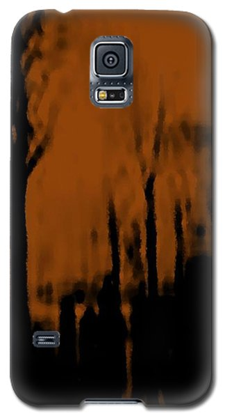 Galaxy S5 Case featuring the digital art Autumn Wet Day by Dr Loifer Vladimir