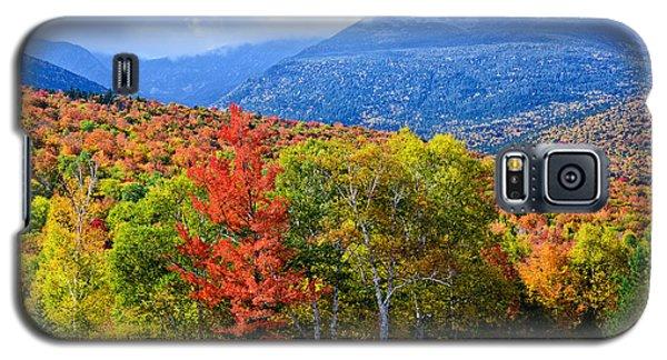 Autumn White Mountains Nh Galaxy S5 Case