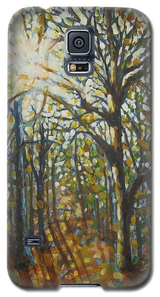 Autumn Wood Galaxy S5 Case