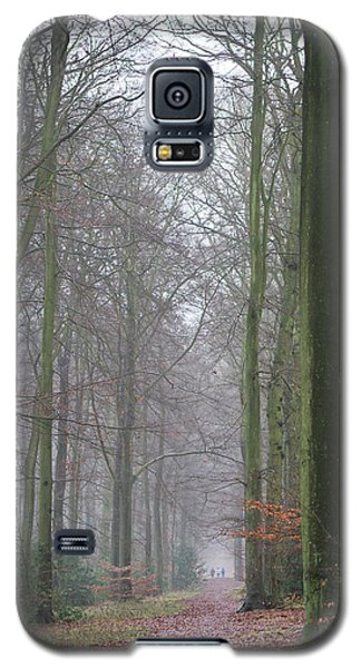 Autumn Woodland Avenue Galaxy S5 Case by Gary Eason
