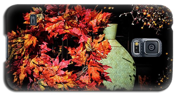 Thanksgiving Wreath Galaxy S5 Case by Charline Xia