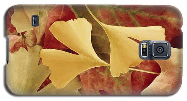 Autumn Yellow Galaxy S5 Case