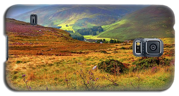 Galaxy S5 Case featuring the photograph Autumnal Hills. Wicklow. Ireland by Jenny Rainbow