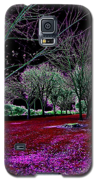 Autumnal Reversography Galaxy S5 Case