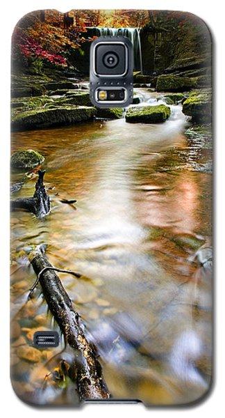 Autumnal Waterfall Galaxy S5 Case