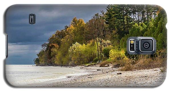Autumn's Shoreline Galaxy S5 Case