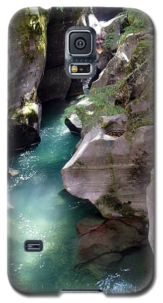 Avalanche Creek Glacier National Park Galaxy S5 Case