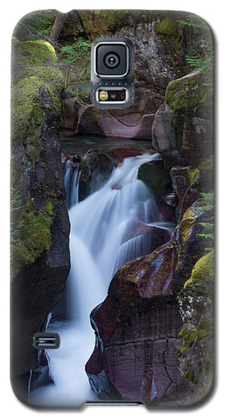 Galaxy S5 Case featuring the photograph Avalanche Gorge 3 by Gary Lengyel