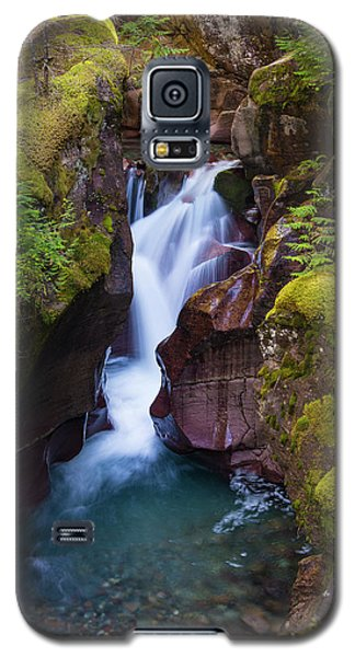 Galaxy S5 Case featuring the photograph Avalanche Gorge 4 by Gary Lengyel