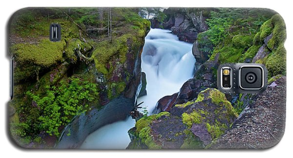 Galaxy S5 Case featuring the photograph Avalanche Gorge 7 by Gary Lengyel