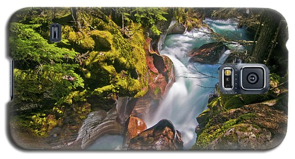 Galaxy S5 Case featuring the photograph Avalanche Gorge by Gary Lengyel