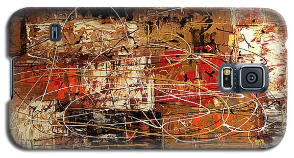 Galaxy S5 Case featuring the painting Avant Garde by Carmen Guedez