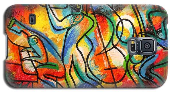 Avant-garde Jazz Galaxy S5 Case