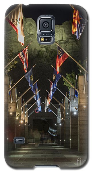 Avenue Of Flags Galaxy S5 Case by Juli Scalzi