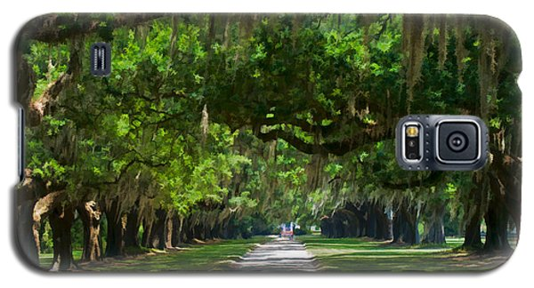 Avenue Of The Oaks At Boonville Plantation Galaxy S5 Case