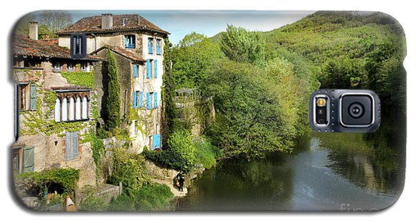 Aveyron River In Saint-antonin-noble-val Galaxy S5 Case by RicardMN Photography