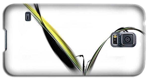 Avian Zen - Fractal Art Galaxy S5 Case by NirvanaBlues