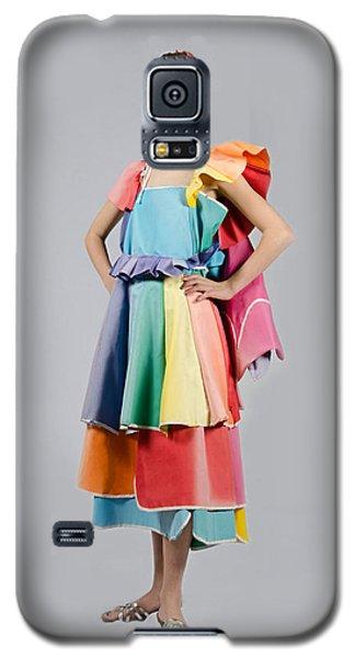 Aviva In Patio Umbrella Dress Galaxy S5 Case