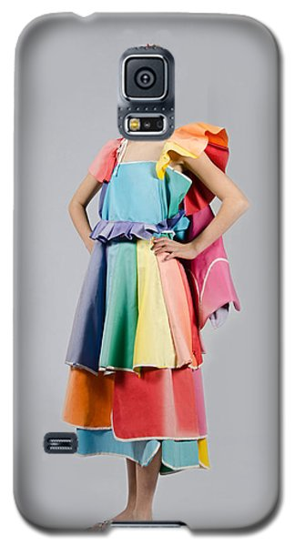 Aviva In Patio Umbrella Dress Galaxy S5 Case