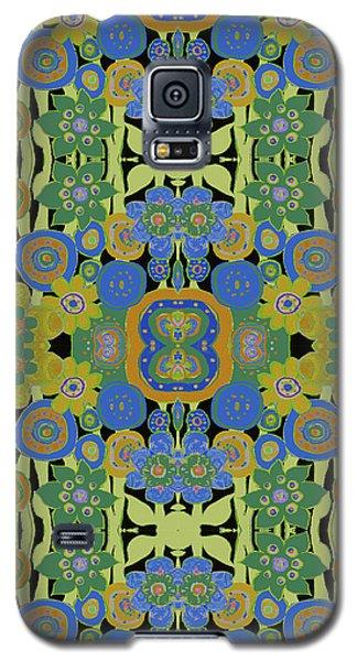 Avocado Blue Pattern Galaxy S5 Case